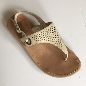 UGG   leather sandals shoes women's size 6